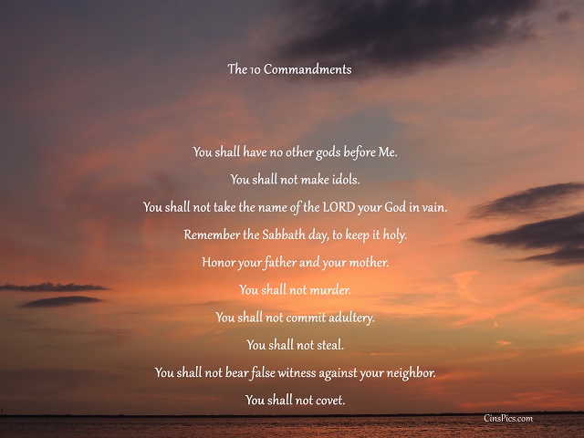 The 10 Commandments by cinspics