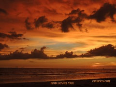 God loves you by cinspics
