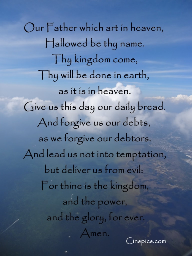 The Lords Prayer by cinspics